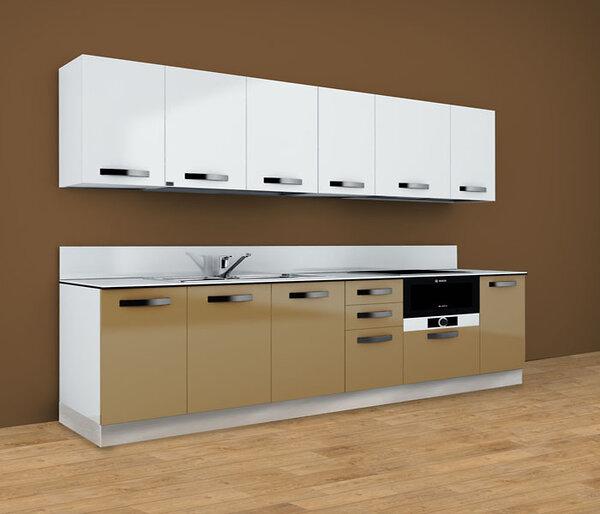 Tủ bếp cao cấp nhập khẩu Arrex - Timo Nocciola