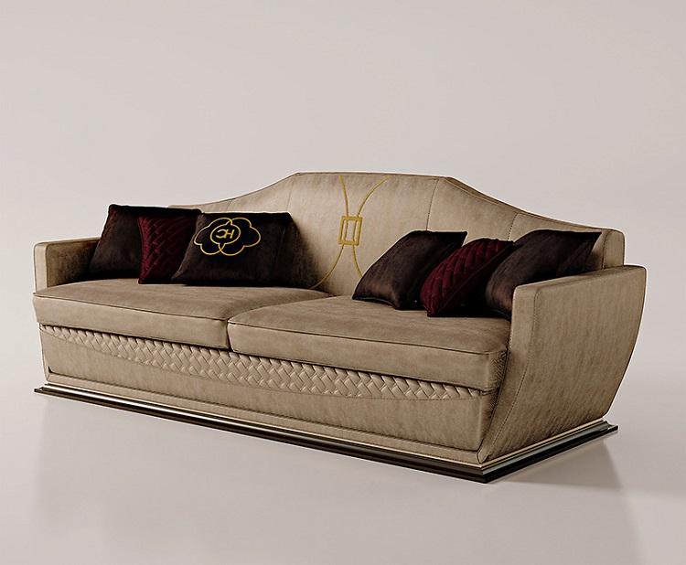 Sofa ghế ba Carpanese Home - Art.7039