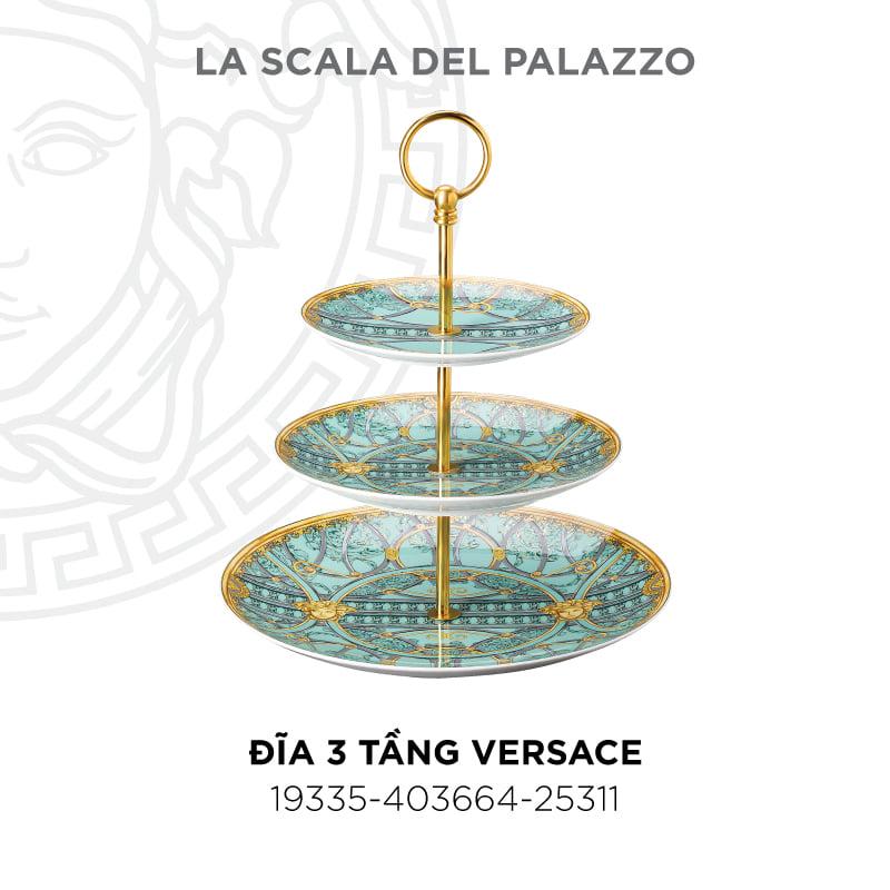 Đĩa 3 tầng Versace 19335-403664-25311