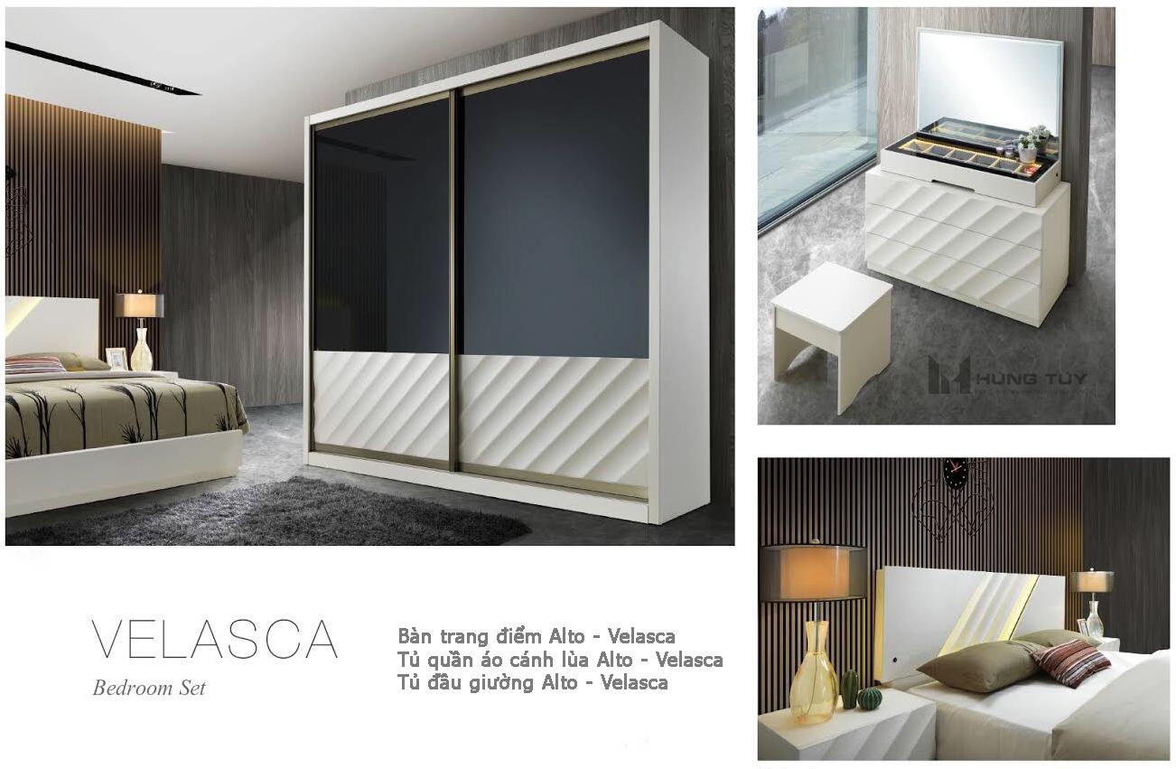 Bộ sưu tập phòng ngủ Velasca