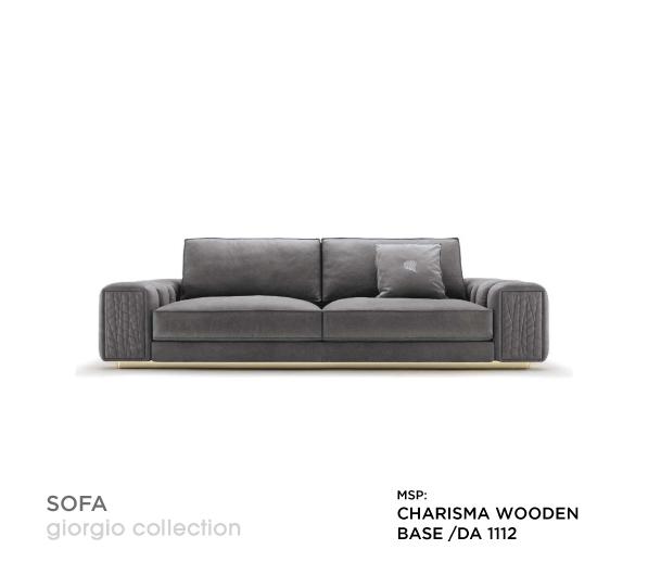 Sofa cao cấp Charisma Wooden Base/DA 1112