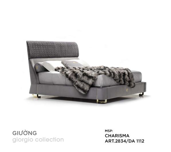 Giường ngủ cao cấp Charisma ART.2834/DA 1112