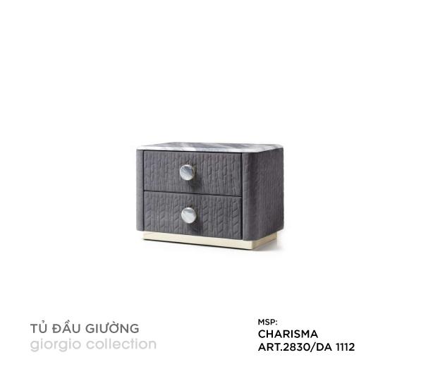 Tủ đầu giường Charisma ART.2830/DA 1112
