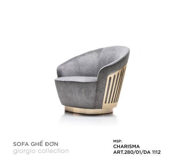 Sofa ghế đơn Charisma ART.280/01/DA 1112