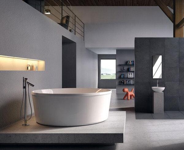 Bồn tắm góc massage Glass Eden - 150 x 150