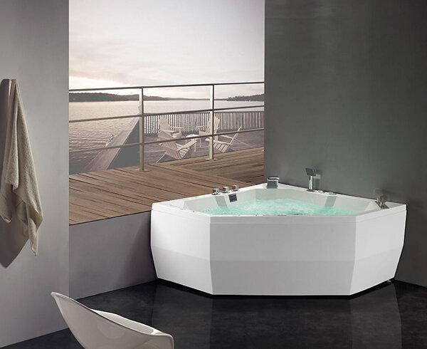 Bồn tắm massage Glass - Linea 170 x 75