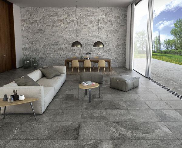 Gạch vân đá tự nhiên Tribeca thương hiệu Tuscania - Italy