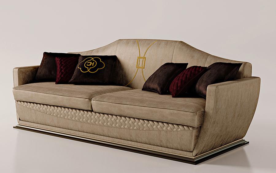 Sofa ghế ba Carpanese - Art.7039