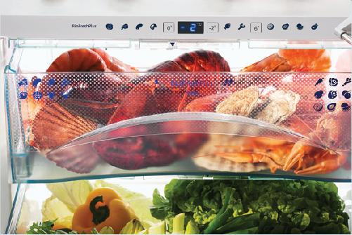 Tủ lạnh LiebherrCBNes 5167 BioFresh - Plus bảo quản thực phẩm tươi lâu hơn