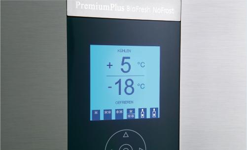 Tủ lạnh LiebherrCBNes 5167 màn hình giao diện LCD điện tử