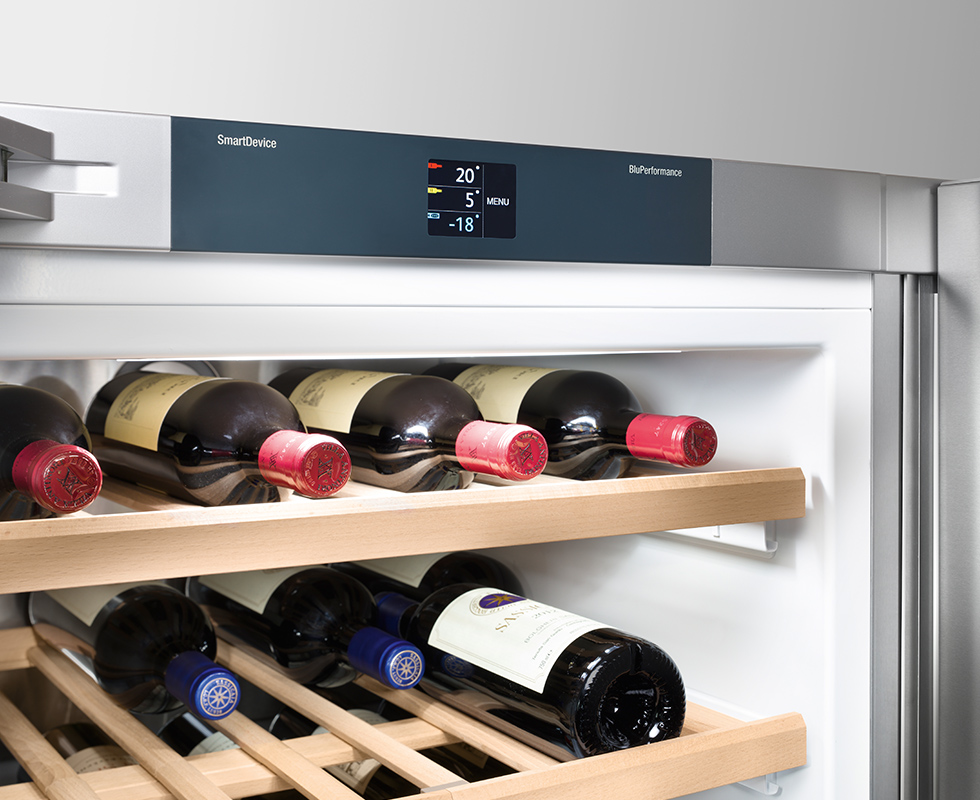 Tủ Lạnh Liebherr SBSes 8486 có 2 chế độ nhiệt và độ ẩm riêng biệt