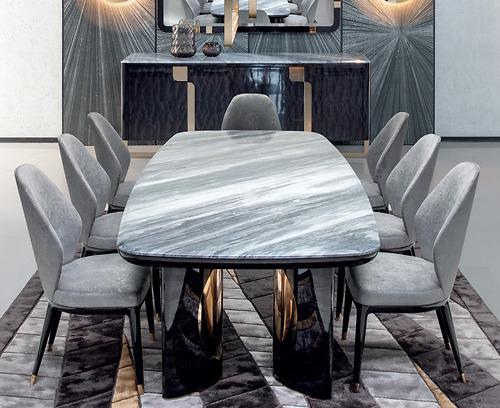 Bộ bàn ăn Giorgio - Charisma