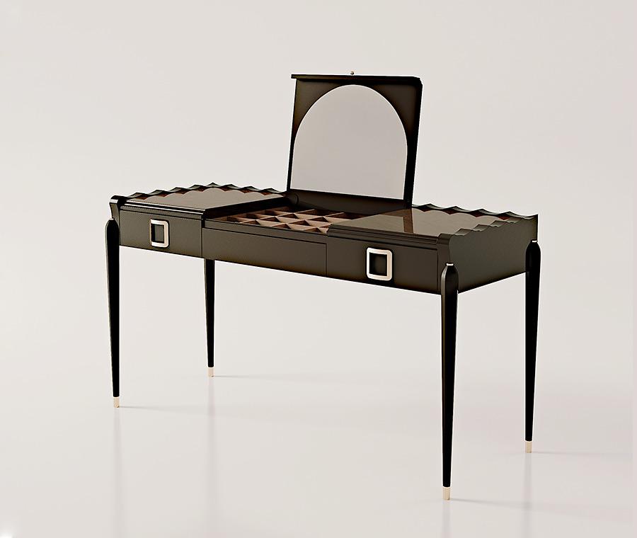 Chiếc bàn trang điểm Carpanese Home - Art.7027 được nhập khẩu trực tiếp tại Italy sẽ là một trong những lựa chọn tuyệt vời cho bạn.