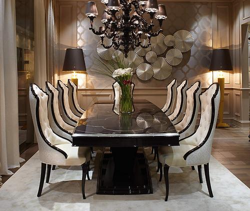 ghế và bàn ăn Carpanese Home - Art.6010