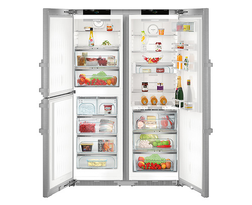 Tủ Lạnh Liebherr SBSes 8484 có khả năng tiết kiệm điện tối đa, với công suất tiêu thụ điệnkhoảng 40W/h chỉ bằng khoảng ¼