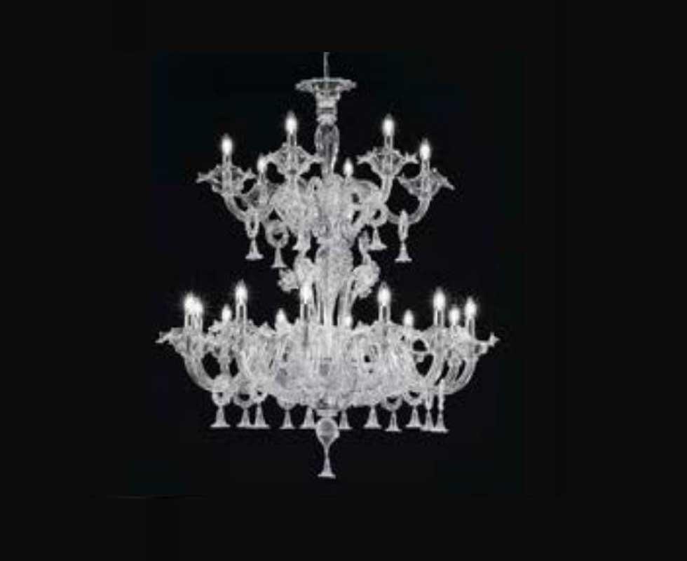 Đèn chùm Sylcom - 1377/12+6 K BL