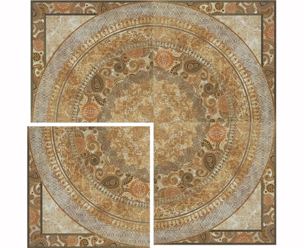 Gạch vân đá hoa chiếu marble 6509 Crema