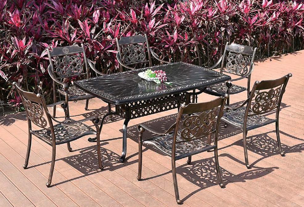 Bàn ghế ngoài trời Hanghong - B808 + A6038