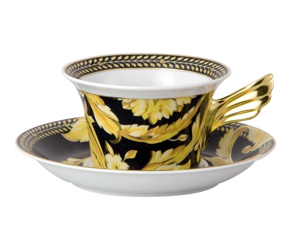 Chén và đĩa để chén Versace - 19300-403608-14640