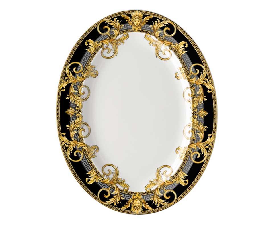 Đĩa Oval D34 Versace - 19325-403637-12734