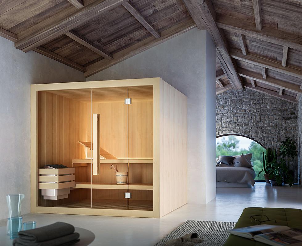 Cabin xông hơi khô Glass - Hoshi
