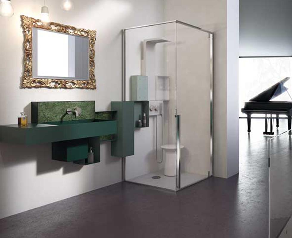 Cabin xông hơi - massage Glass - Osmos 100 x 100
