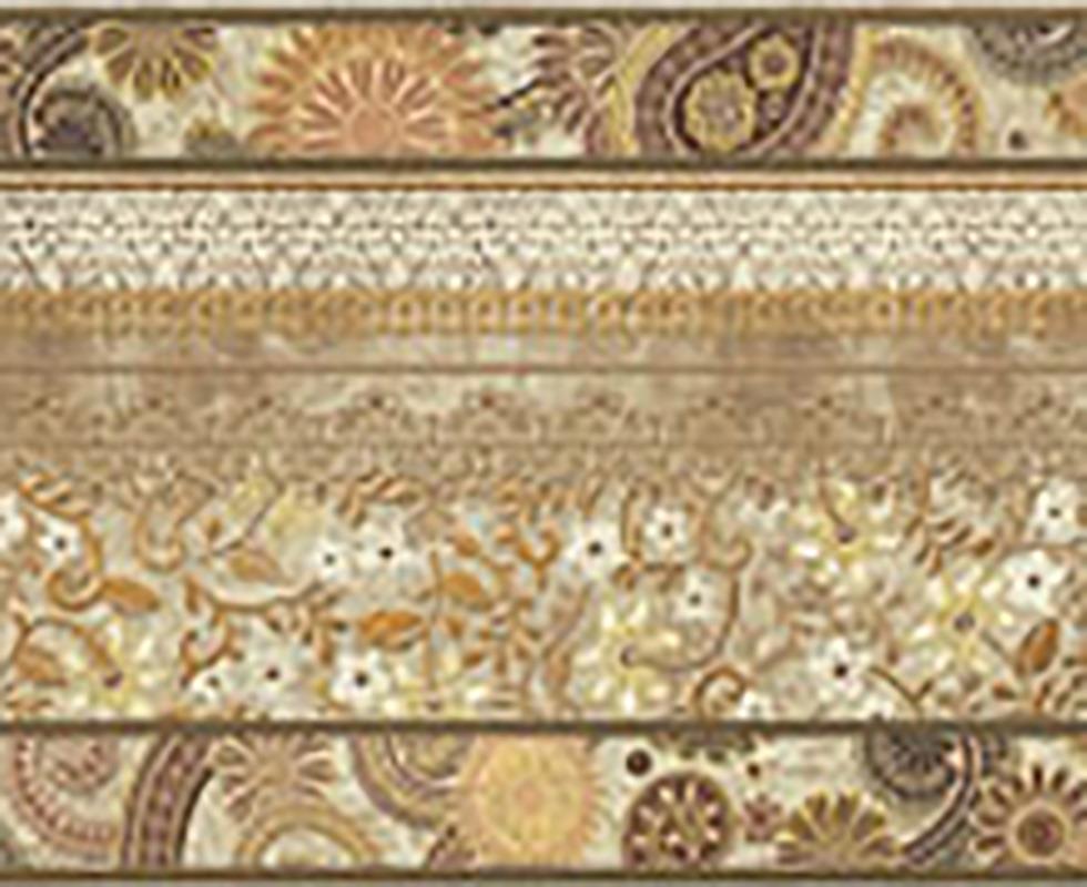 Gạch viền vân đá marble Cenefa 6509 Crema