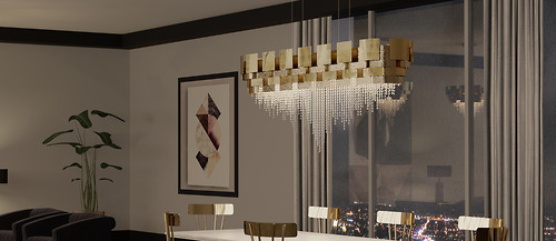 Đèn chùmCastro - Mondrian/9180.170x55
