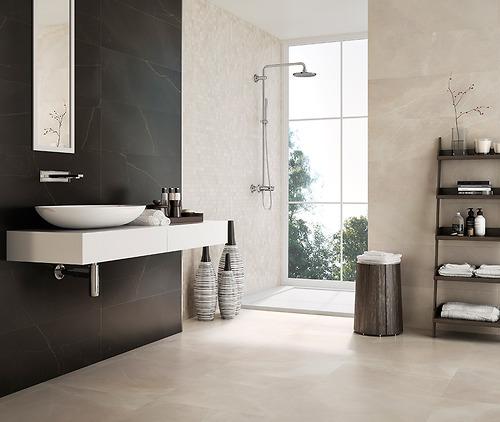 Gạch vân đá Marble Emerita Light thuộc loại gạch Ceramic có độ hút nước >10%.