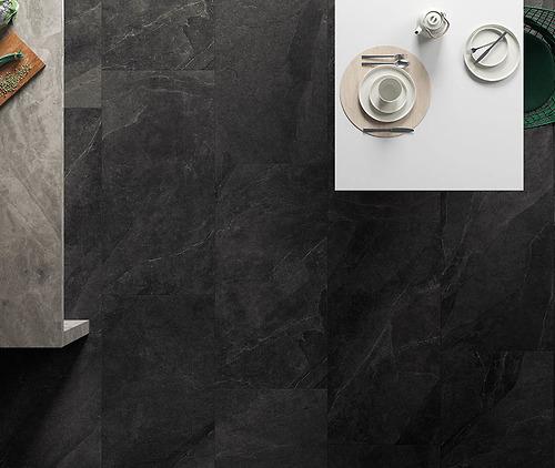 Gạch vân đá Stone Italgraniti - Dark 60x60cm thuộc loại gạch Porcelain có độ hút nước <=0.5%.