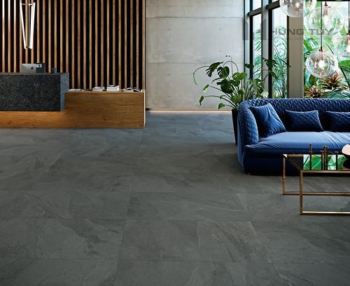 Gạch vân đá Marble Grespania - Annapurna Antracita kích thước 60x120 cm được làm từ chất liệu Porcelain, độ hút nước ≤0.5%