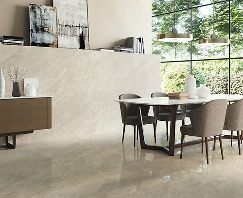 Gạch vân đá marble Balmoral Moon Pulido thuộc loại gạch Porcelain có độ hút nước ≤0.5%.