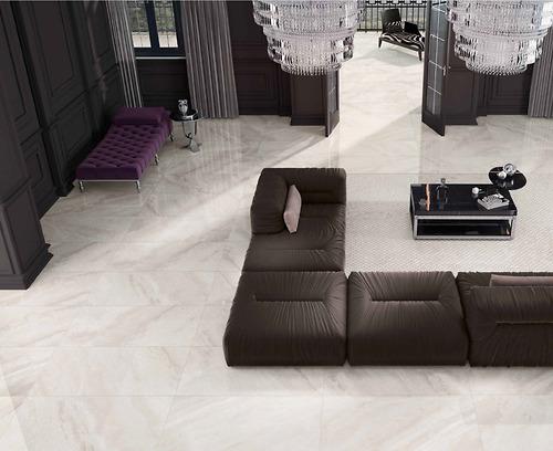 Gạch vân đá Marble Supreme Ivory chất liệuPorcelain có độhút nước: ≤0.5% 