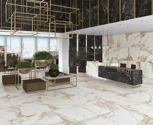 Gạch vân đá Marble Kiruna kích thước 60x120