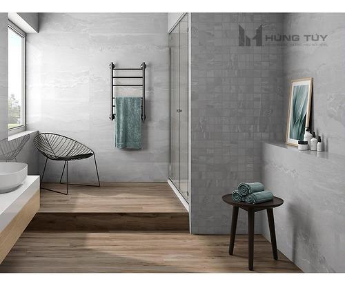 Gạch vân đá marble - Cr. Whitehall Pearl Pul làm bằng chất liệu Porcelain có độ hút nước ≤0.5% được sản xuất và nhập khẩu bởi hãng gạch hàng đầu Tây Ban Nha.