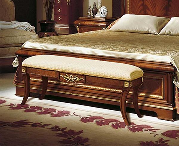 Ghế đuôi giường Vicente - Verona Walnut Gold /FLB01