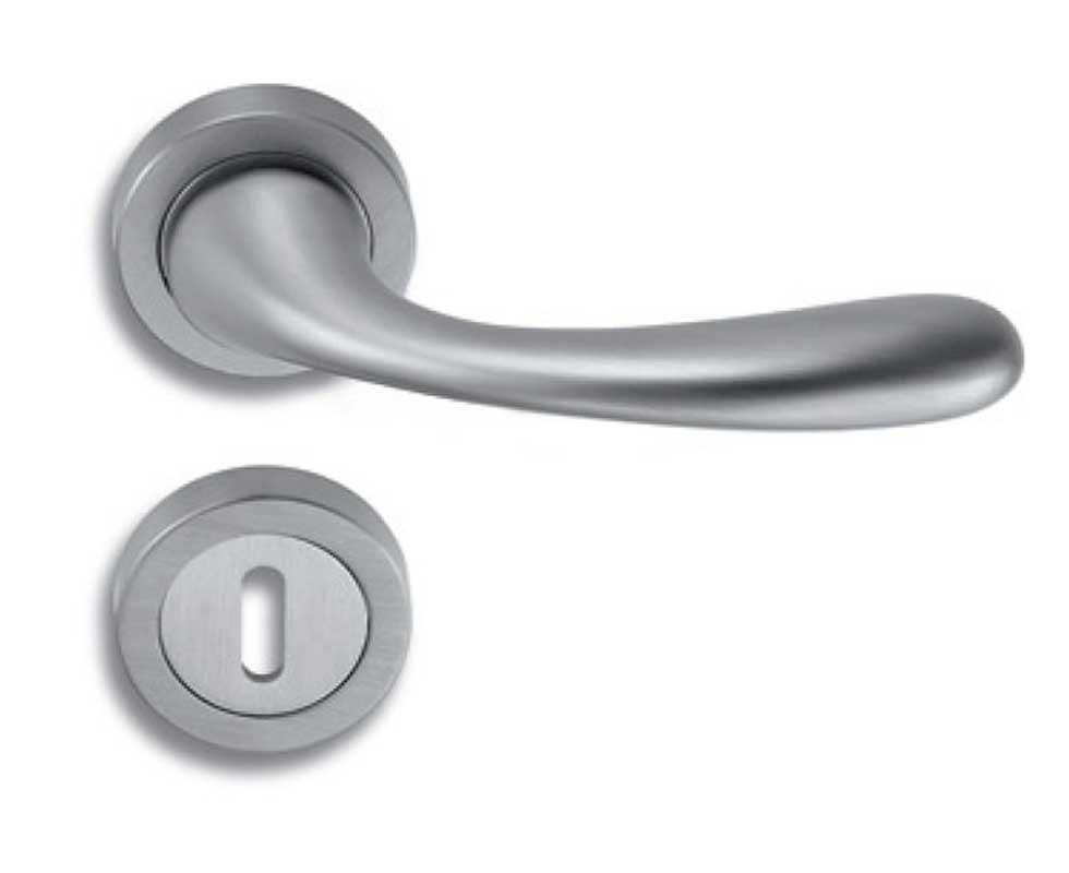 Bộ tay khóa cửa Salice Paolo - Ilex 6005 Chrome