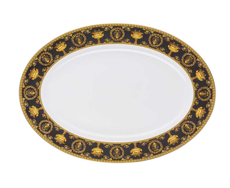 Đĩa Oval D40 Versace 19325-403653-12740