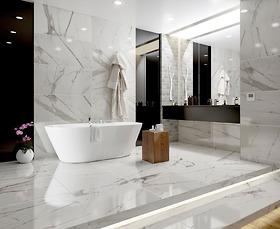Bộ gạch vân đá marble Classic Statuario