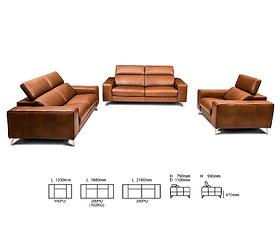 Bộ sofa SZ 2827/Col 117