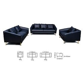 Bộ sofa SZ 28502/Col 274