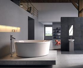 Bồn tắm massage Glass - Pearl D175