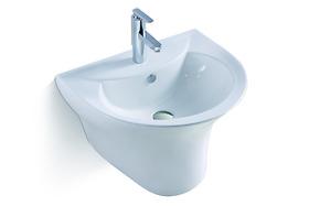 Chậu rửa liền chân lửng Picenza - PZ4707