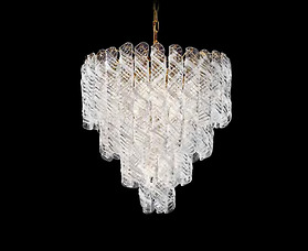 Đèn chùm Novaresi - 4000/75/Gold