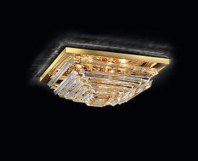 Đèn trần Novaresi - 9991/55P Gold