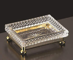 Đĩa xà phòng Cristal et Bronze - Millesime Dome 31457