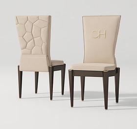 Ghế bàn ăn Carpanese Home - Art.7509
