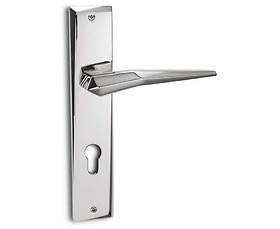 Bộ tay khóa Salice Paolo - Plisse 6101 Chrome