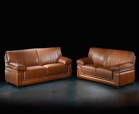 Bộ sofa Cattaneo - Skypper Country Cognac