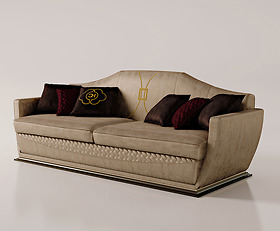 Sofa ghế ba Carpanese Home - Art.7039